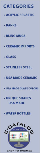 American Made Ceramic Manufacturer  Made in USA Mugs